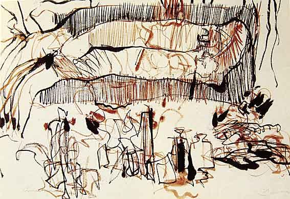 Robert Guinan, encre sur papier