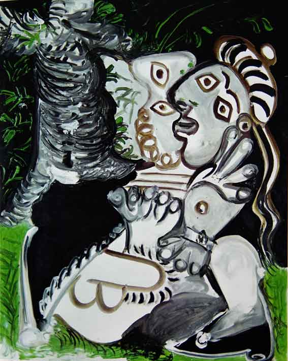Couple par Picasso, 1969