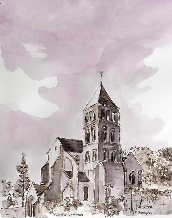 église de Nouvion-le-Vineux (02)