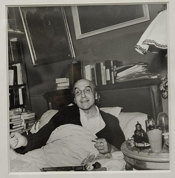 Joë Bousquet par Denise Bellon en 1947
