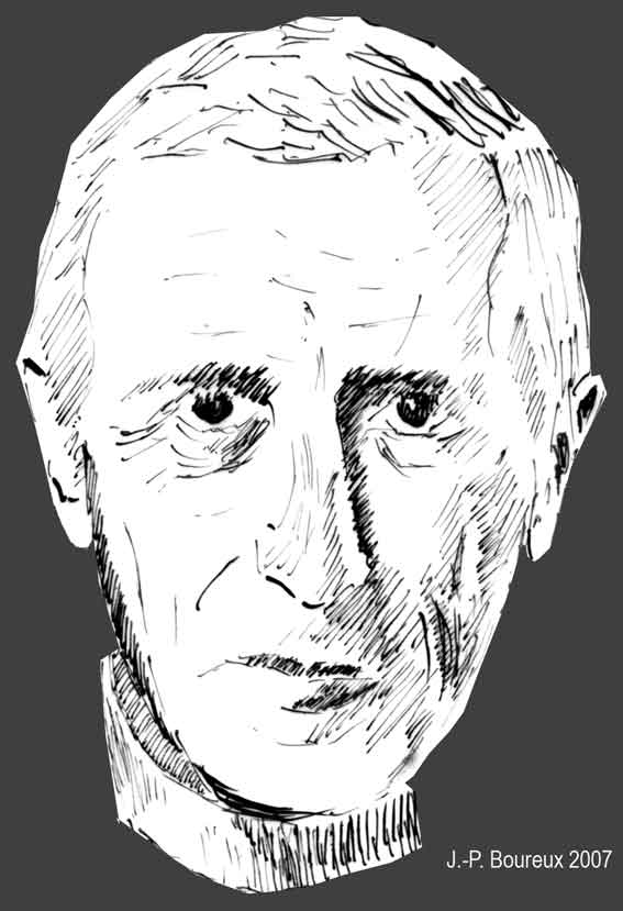portrait du P. P. Teilhard de Chardin