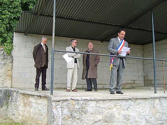 discours du maire de Paissy