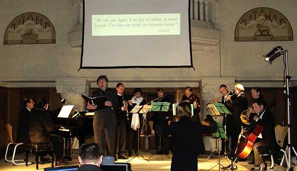 Concert à Craonne par 'Camerata Champagne'