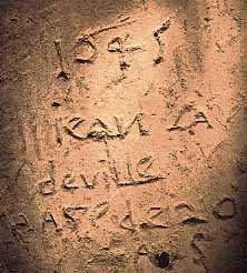 Paissy graffito 1645