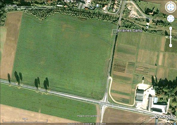 un champ cultivé quelque part le long de l'Aisne