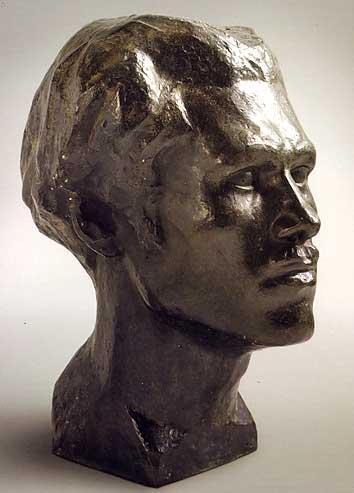 buste d'Antral, bronze de Léon Borgey