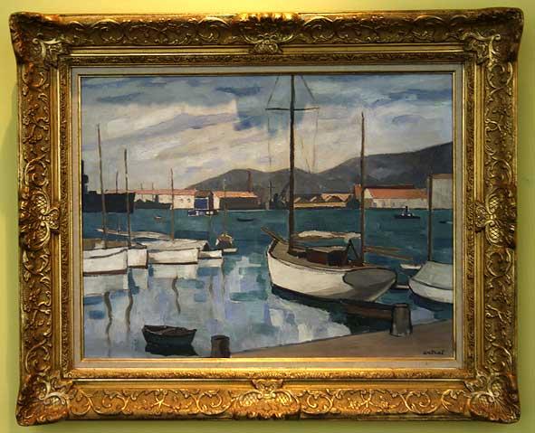 port de Toulon par Antral