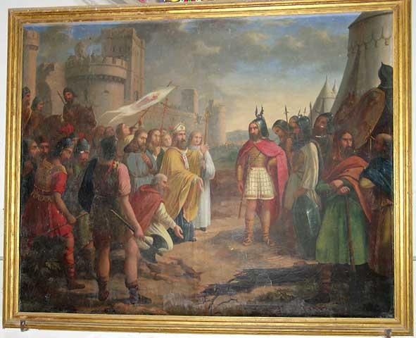 siège d'Orléans par Attila