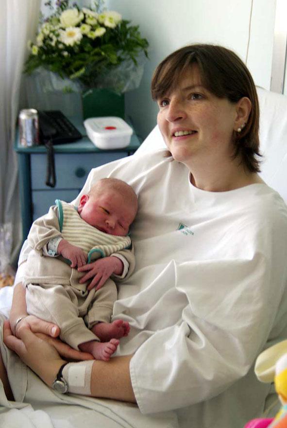 Benoît et sa maman