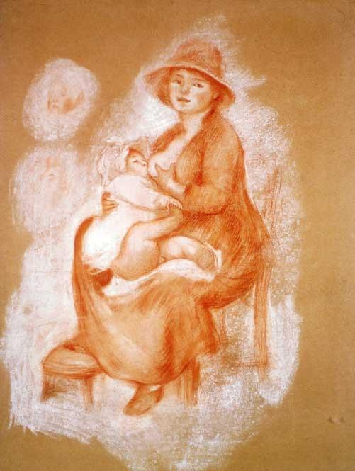 Auguste Renoir, Maternité