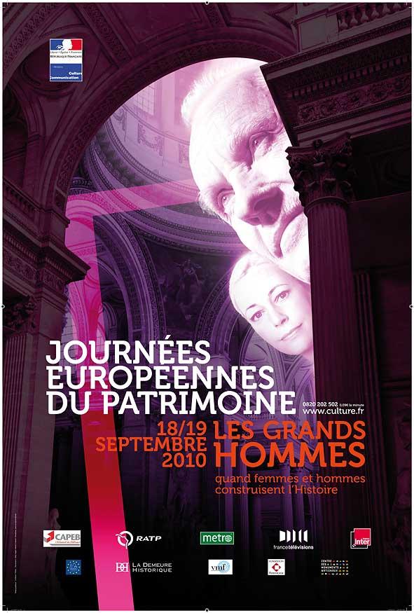 affiche des journées du patrimoine 2010