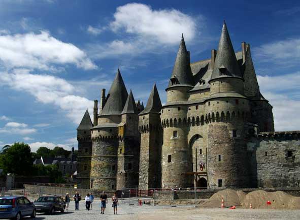 façade du château de Vitré