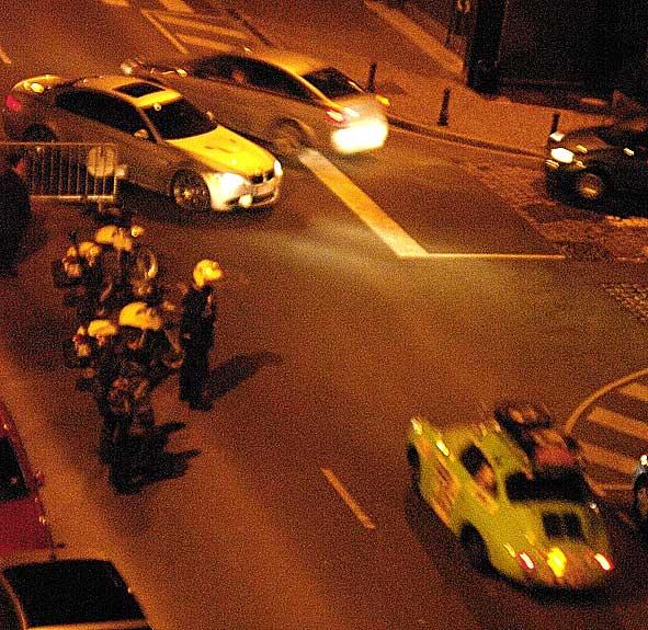 voiture du Rallye Reims-Monte-Carlo rue Cérès à Reims