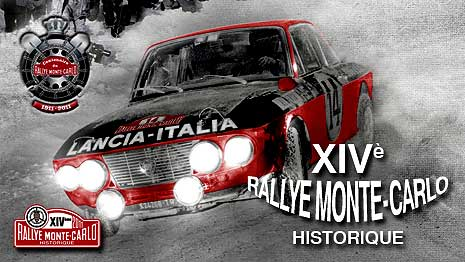 photo du rallye historique Monte-Carlo