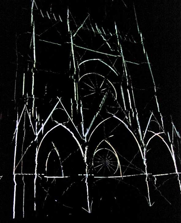 spectacle de lumière Cathédrale de Reims