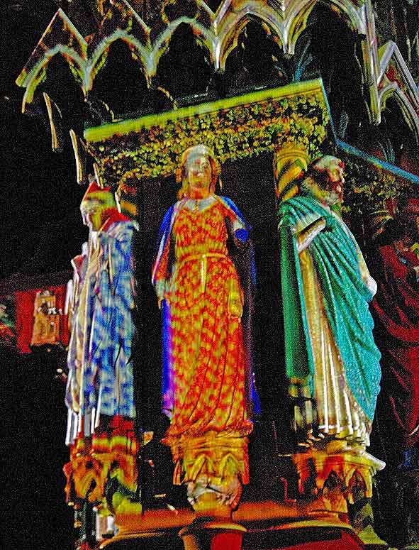 Reine de Saba en couleurs à Reims