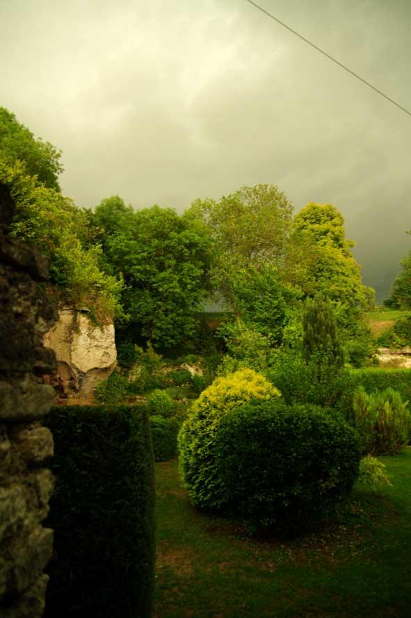 début d'orage