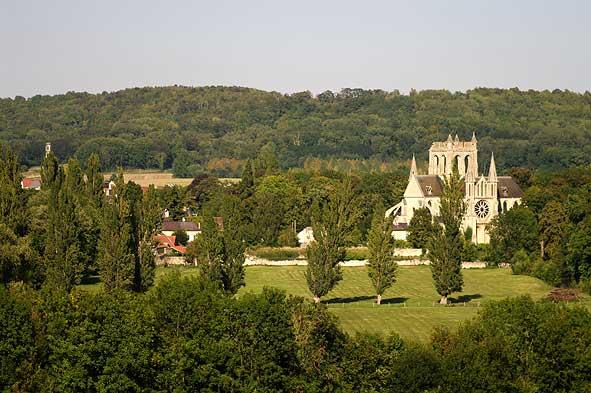 Saint-Yved depuis la route de Fère-en-Tardenois