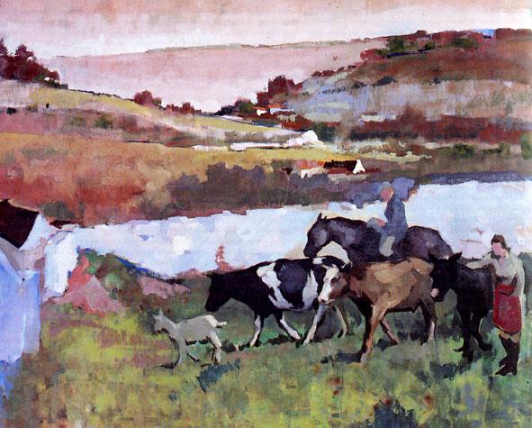 peinture de Luc Lepetit