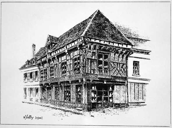 maison à colombages de Vailly