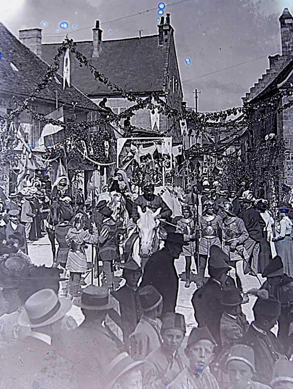 1909 fêtes jeanne d'Arc Vailly