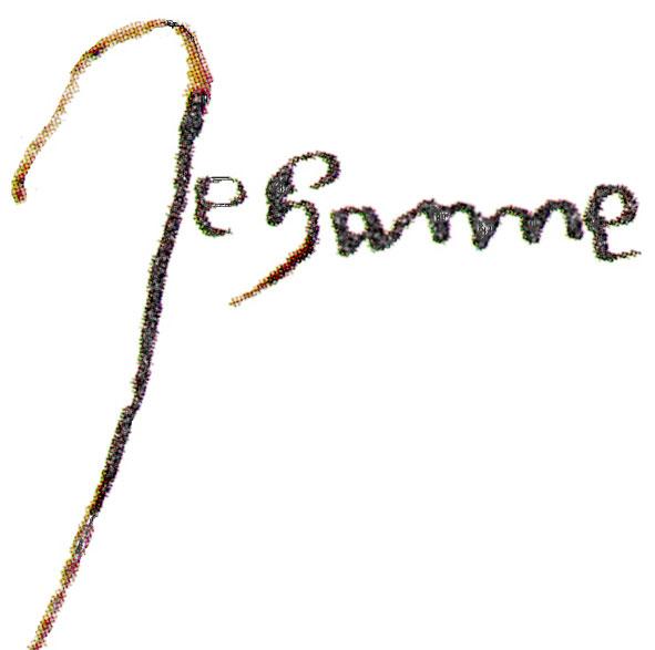 signature de Jeanne d'Arc