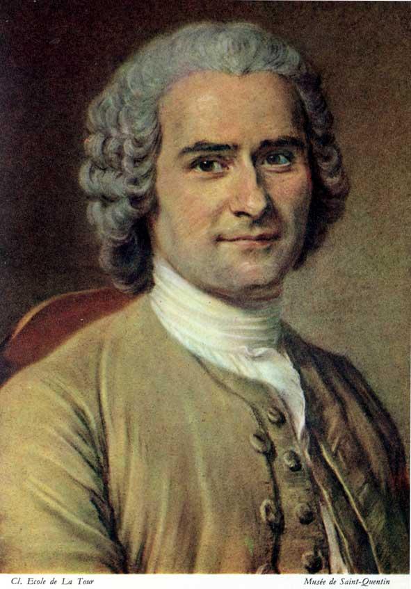 Jean-Jacques Rousseau, pastel du musée La Tour à Saint-Quentin