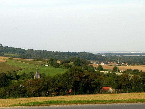 villages de Craonnelle et Craonne