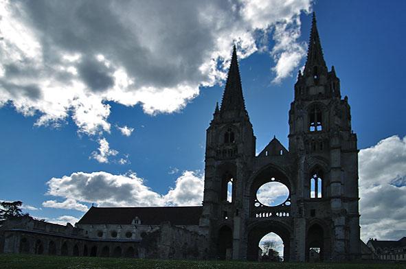 façade est de Saint-Jean-des-Vignes