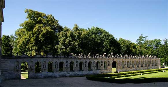 galerie au cerf du château de Raray