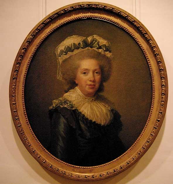 """""""Madame Adélaïde"""" par L.-Elisabeth Vigée-Lebrun, 1791"""