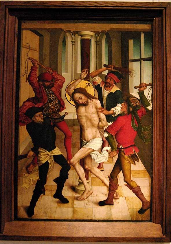 flagellation, école allemande du XVe siècle