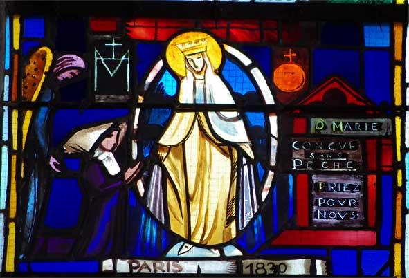 O Marie conçue sans péché priez pour nous