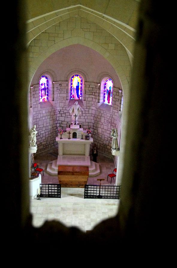 choeur de l'église de Paissy