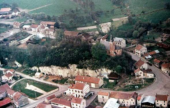 vue aérienne d'Autry