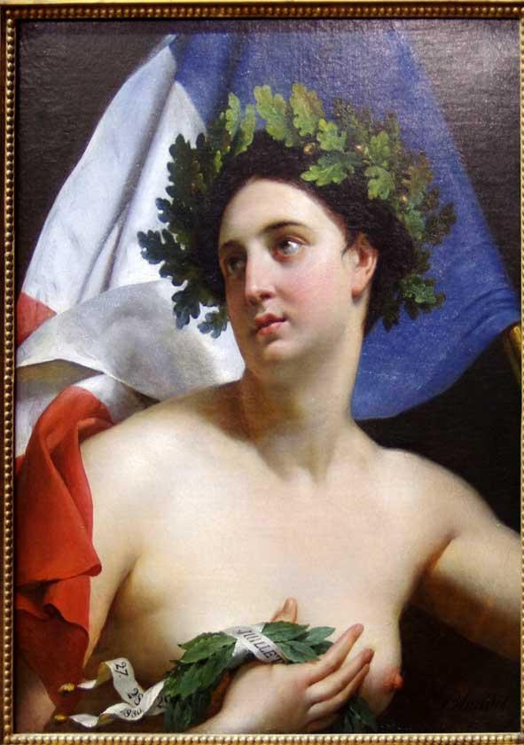 Trois Glorieuses, Blondel, 1830