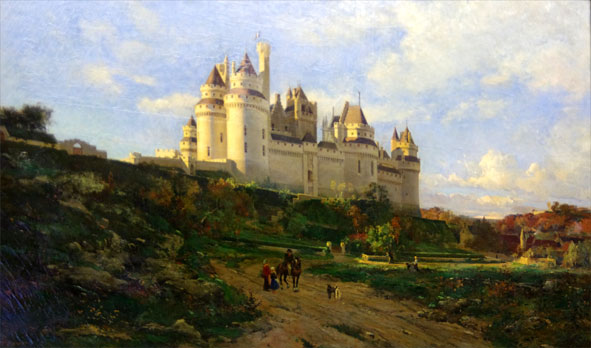 Pierrefonds par Lansyer