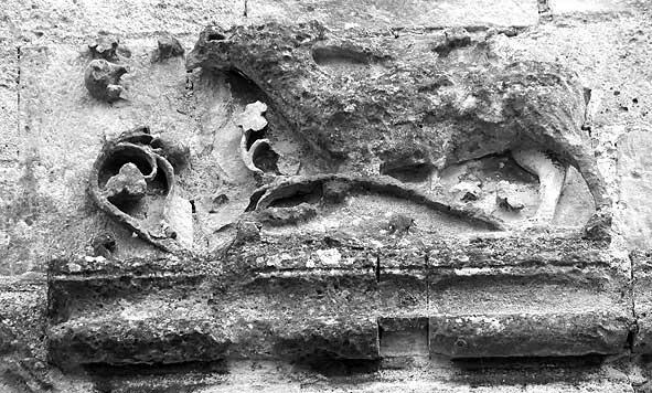 cerf broutant, sculpture